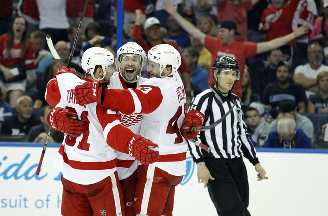 Detroit Red Wings vs. Tampa Bay Lightning - 4/27/15 NHL Pick, Odds, and Prediction