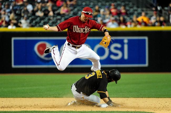 Pirates vs. Diamondbacks - 8/17/15 MLB Pick, Odds, and Prediction