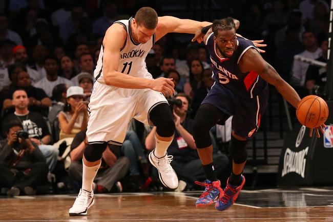 Nets at Hawks - 4/29/15 NBA Pick, Odds, and Prediction