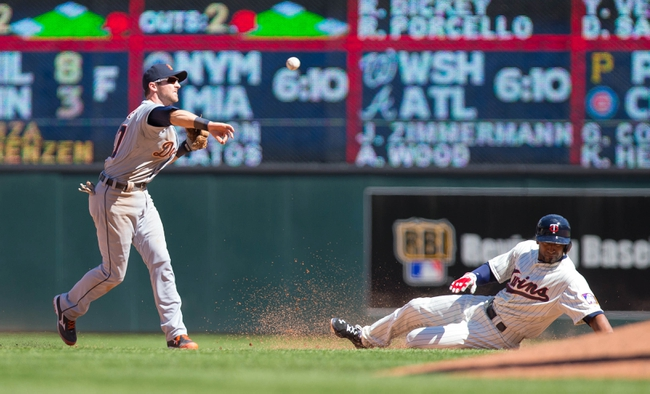 Tigers vs. Twins - 5/12/15 MLB Pick, Odds, and Prediction