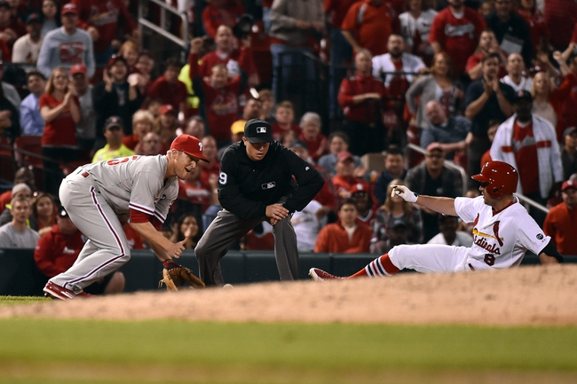 Phillies at Cardinals - 4/30/15 MLB Pick, Odds, and Prediction
