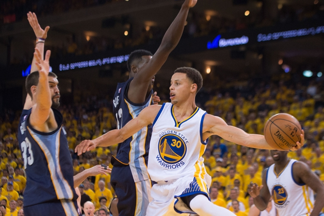 Golden State Warriors vs. Memphis Grizzlies - 5/5/15 NBA Pick, Odds, and Prediction