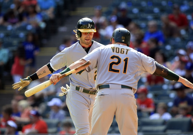 Oakland A's vs. Texas Rangers - 6/9/15 MLB Pick, Odds, and Prediction