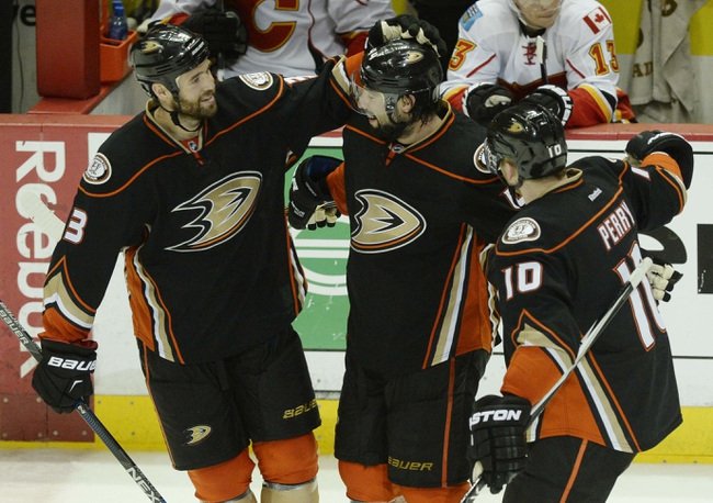 Anaheim Ducks  at Calgary Flames- 5/5/15 NHL Pick, Odds, and Prediction