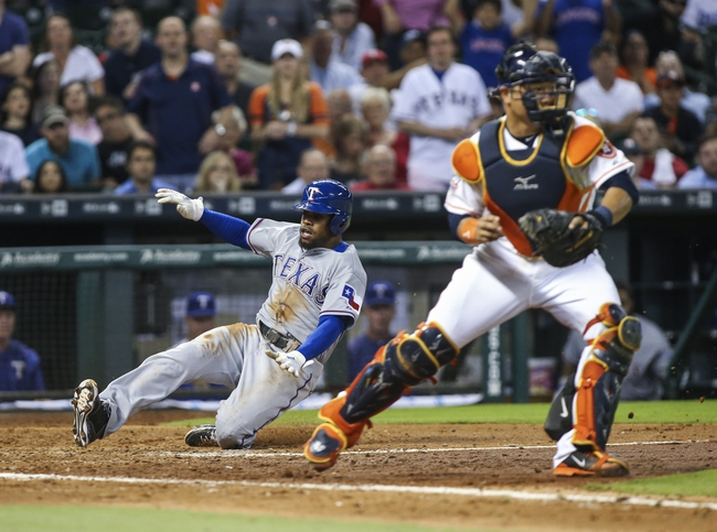 Houston Astros vs. Texas Rangers - 7/17/15 MLB Pick, Odds, and Prediction