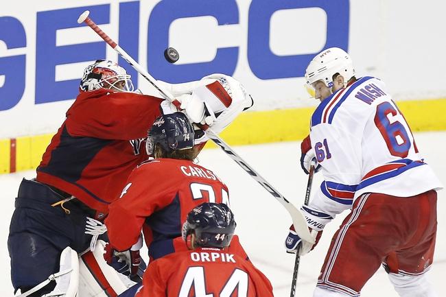 New York Rangers at Washington Capitals- 5/6/15 NHL Pick, Odds, and Prediction