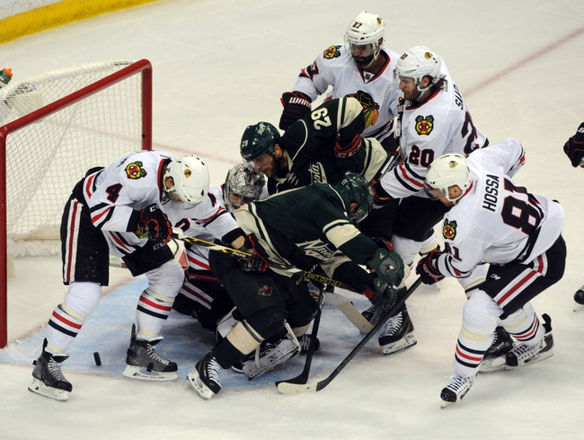 Chicago Blackhawks at Minnesota Wild- 5/7/15 NHL Pick, Odds, and Prediction