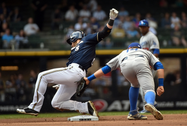 Los Angeles Dodgers vs. Milwaukee Brewers - 7/10/15 MLB Pick, Odds, and Prediction