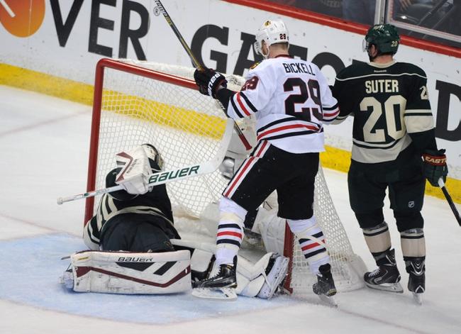 Minnesota Wild vs. Chicago Blackhawks - 10/30/15 NHL Pick, Odds, and Prediction