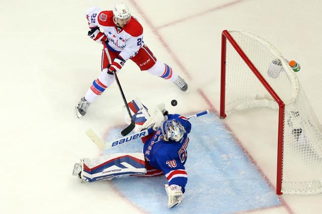 New York Rangers at Washington Capitals- 5/10/15 NHL Pick, Odds, and Prediction