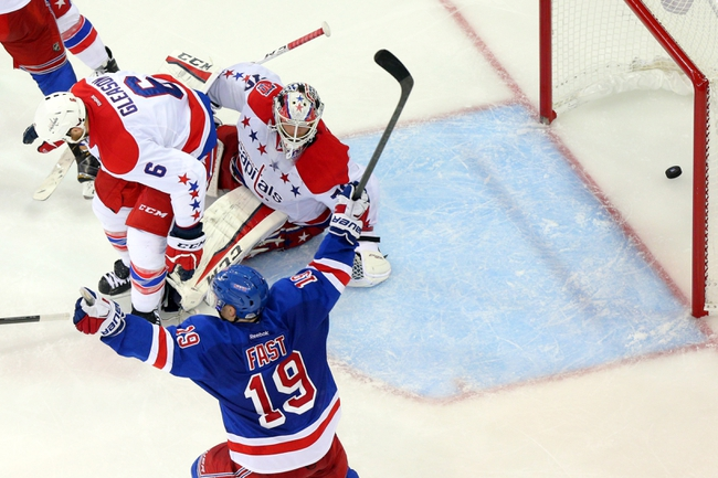 Washington Capitals vs. New York Rangers - 5/10/15 NHL Pick, Odds, and Prediction