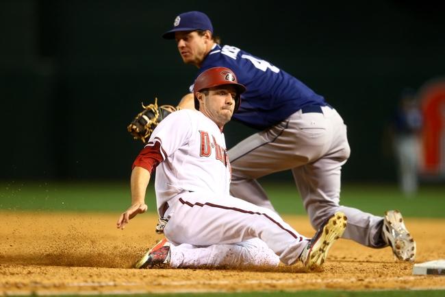 Diamondbacks vs. Padres - 5/9/15 MLB Pick, Odds, and Prediction