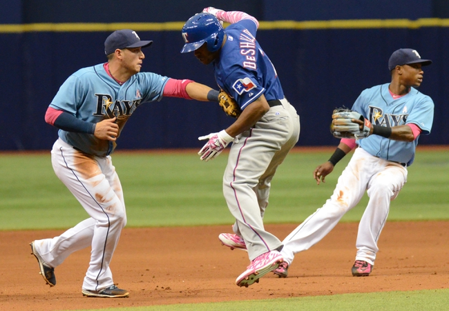 Texas Rangers vs. Tampa Bay Rays - 8/14/15 MLB Pick, Odds, and Prediction