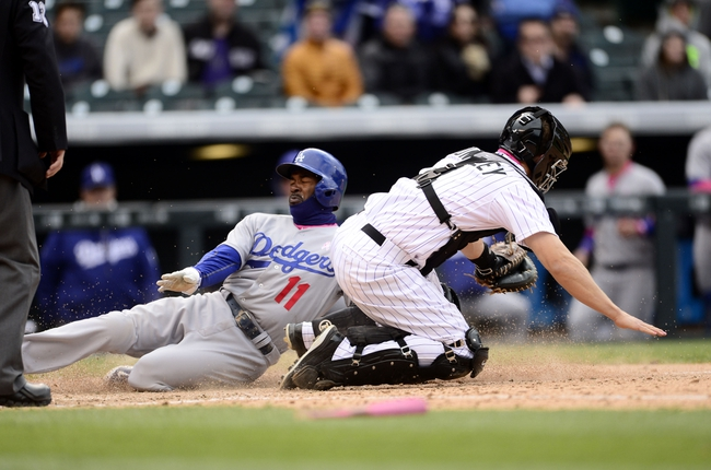 Los Angeles Dodgers vs. Colorado Rockies - 5/14/15 MLB Pick, Odds, and Prediction