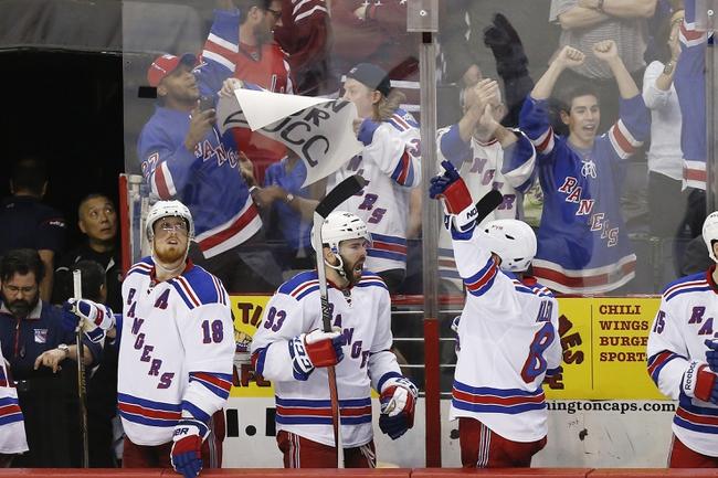 Washington Capitals at New York Rangers- 5/13/15 NHL Pick, Odds, and Prediction