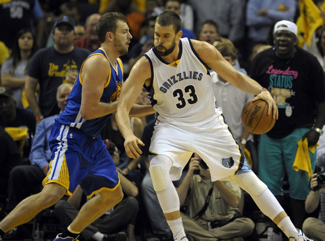 Grizzlies at Warriors - 5/13/15 NBA Pick, Odds, and Prediction