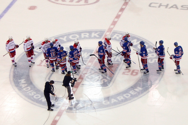 New York Rangers vs. Washington Capitals - 11/3/15 NHL Pick, Odds, and Prediction