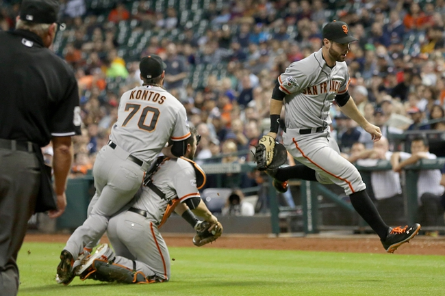 San Francisco Giants vs. Houston Astros - 8/11/15 MLB Pick, Odds, and Prediction