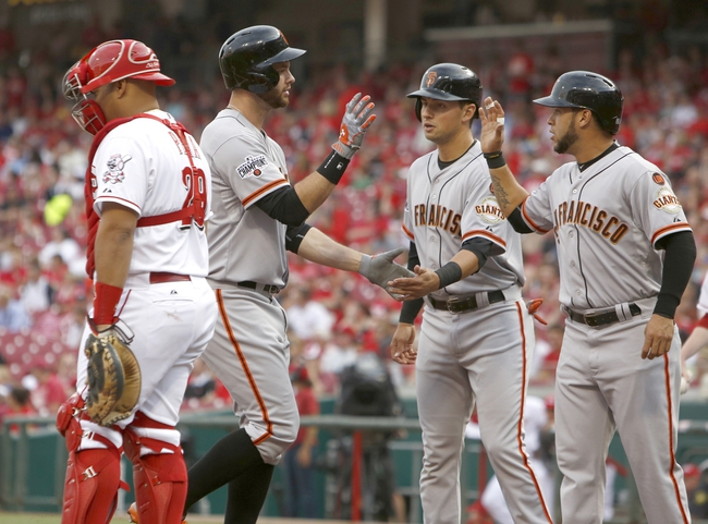 Reds vs. Giants - 5/17/15 MLB Pick, Odds, and Prediction