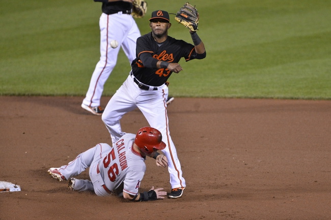 Baltimore Orioles vs. Los Angeles Angels - 5/16/15 MLB Pick, Odds, and Prediction