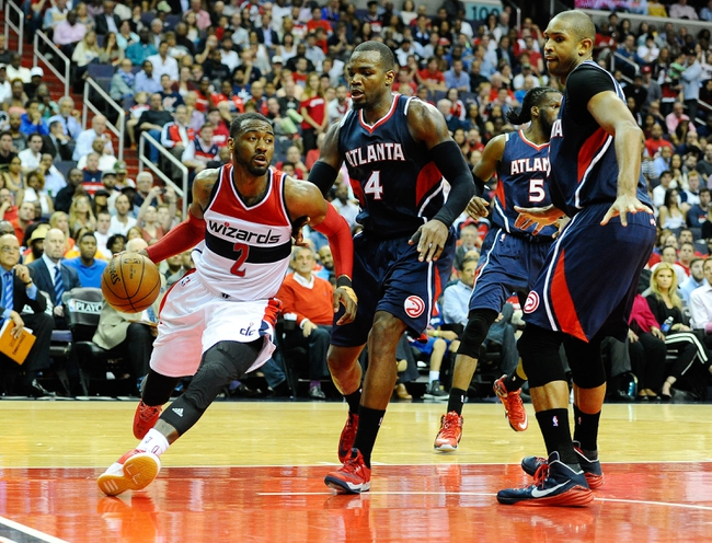 Wizards at Hawks - 11/7/15 NBA Pick, Odds, and Prediction