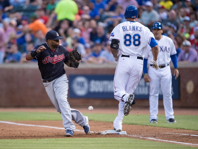 Rangers vs. Indians - 5/16/15 MLB Pick, Odds, and Prediction