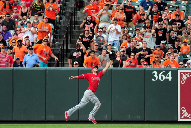 Orioles at Angels - 8/7/15 MLB Pick, Odds, and Prediction
