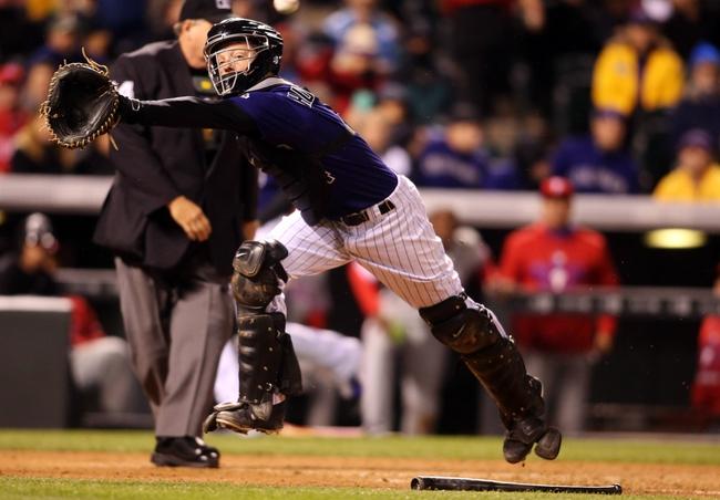 Colorado Rockies vs. Philadelphia Phillies - 5/19/15 MLB Pick, Odds, and Prediction