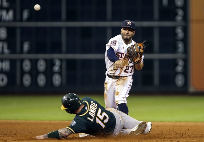 Houston Astros vs. Oakland Athletics - 5/20/15 MLB Pick, Odds, and Prediction