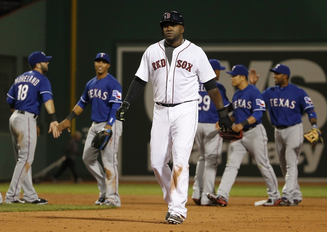Rangers vs. Red Sox - 5/28/15 MLB Pick, Odds, and Prediction