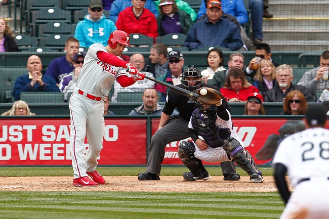 Rockies at Phillies - 5/29/15 MLB Pick, Odds, and Prediction