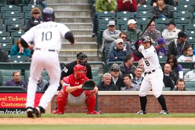 Philadelphia Phillies vs. Colorado Rockies - 5/30/15 MLB Pick, Odds, and Prediction