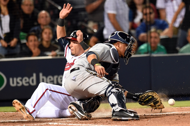 Atlanta Braves vs. Milwaukee Brewers - 5/22/15 MLB Pick, Odds, and Prediction