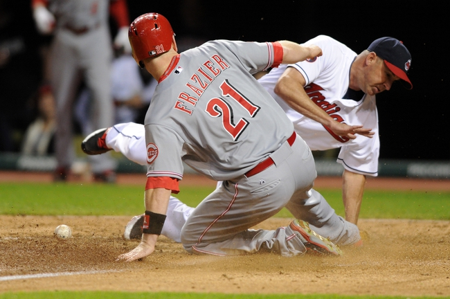 Indians vs. Reds - 5/23/15 MLB Pick, Odds, and Prediction
