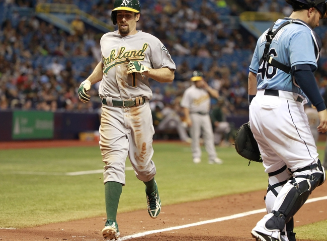 Athletics vs. Rays - 8/21/15 MLB Pick, Odds, and Prediction