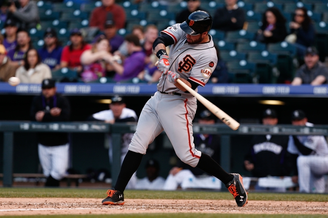 San Francisco Giants vs. Colorado Rockies - 6/26/15 MLB Pick, Odds, and Prediction
