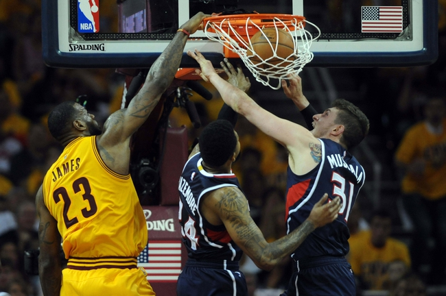 Hawks at Cavaliers - 5/26/15 NBA Pick, Odds, and Prediction