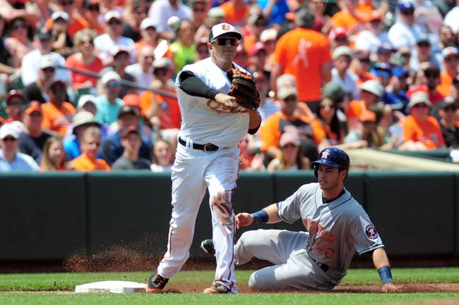 Orioles vs. Astros - 5/26/15 MLB Pick, Odds, and Prediction