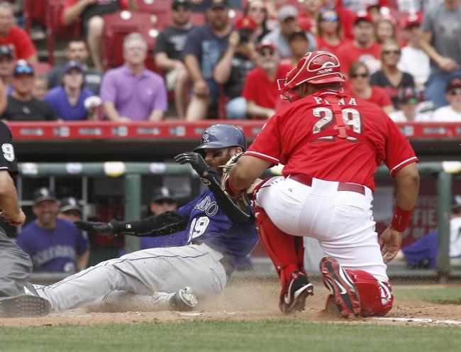Cincinnati Reds vs. Colorado Rockies - 5/27/15 MLB Pick, Odds, and Prediction