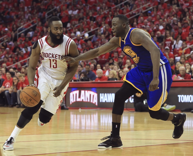 Golden State Warriors vs. Houston Rockets - 5/27/15 NBA Pick, Odds, and Prediction