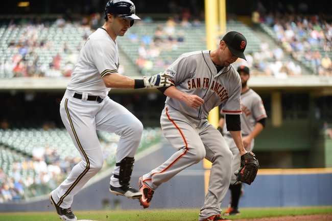 San Francisco Giants vs. Milwaukee Brewers - 7/27/15 MLB Pick, Odds, and Prediction