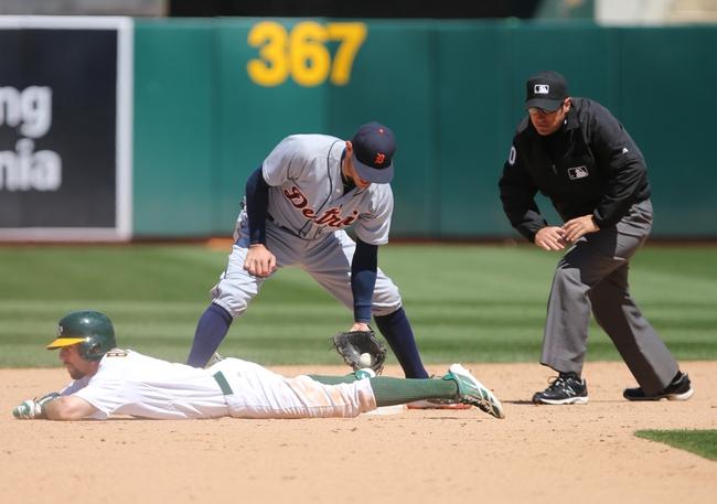 Athletics at Tigers - 6/2/15 MLB Pick, Odds, and Prediction