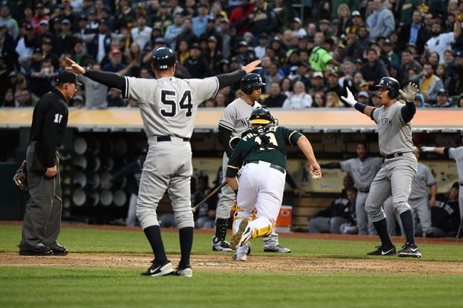 Oakland Athletics vs. New York Yankees - 5/29/15 MLB Pick, Odds, and Prediction