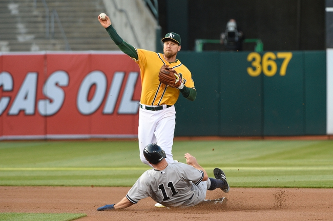 Oakland Athletics vs. New York Yankees - 5/30/15 MLB Pick, Odds, and Prediction