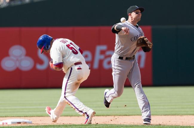 Phillies vs. Rockies - 5/31/15 MLB Pick, Odds, and Prediction