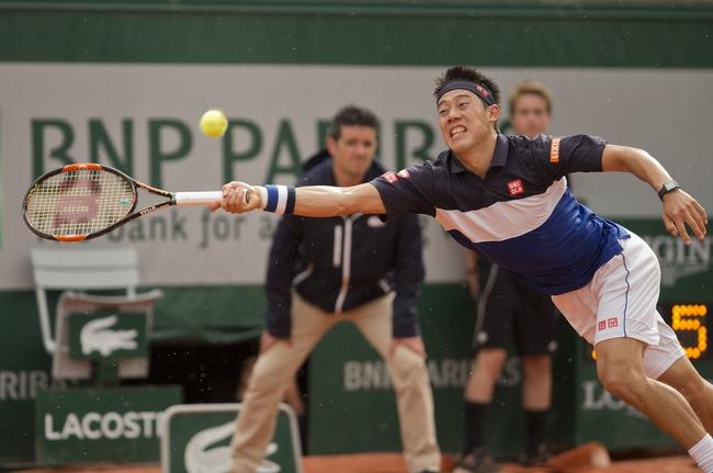 Andrey Kuznetsov vs. Kei Nishikori 2016 French Open Pick, Odds, Prediction