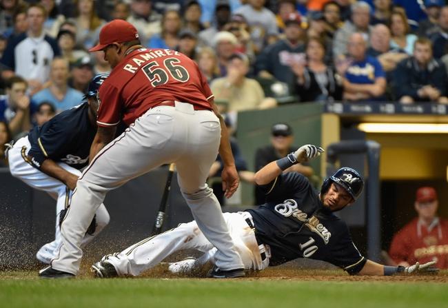 Arizona Diamondbacks vs. Milwaukee Brewers - 7/23/15 MLB Pick, Odds, and Prediction