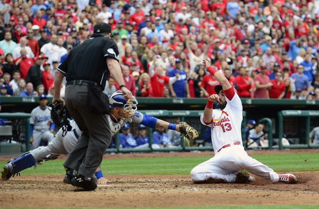 Los Angeles Dodgers vs. St. Louis Cardinals - 6/5/15 MLB Pick, Odds, and Prediction