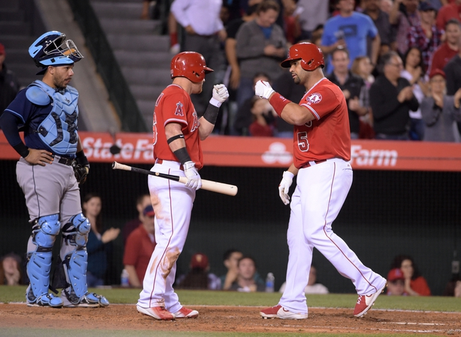Los Angeles Angels vs. Tampa Bay Rays - 6/2/15 MLB Pick, Odds, and Prediction