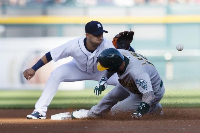 Detroit Tigers vs. Oakland Athletics - 4/25/16 MLB Pick, Odds, and Prediction